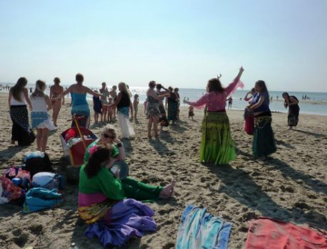 Bellydance on the Beach