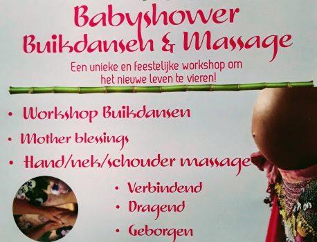 Babyshower Buikdansen & Massage